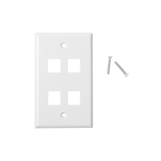 4-Ports Faceplate